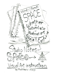 Studio Notes on Space  book cover